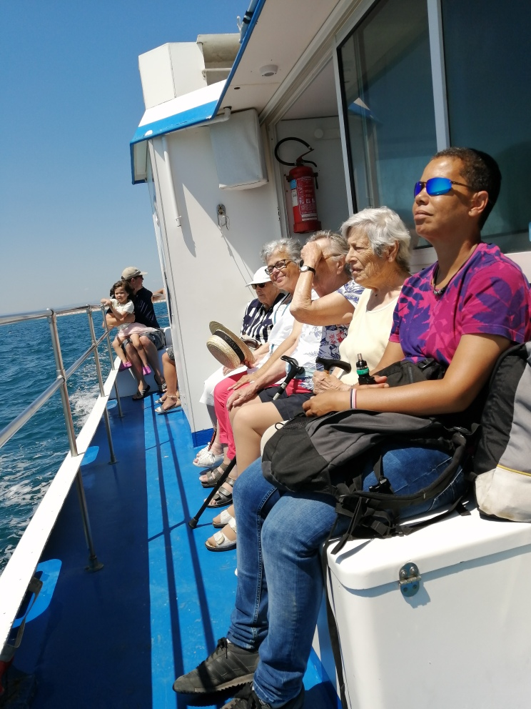 Balade en catamaran et resto plage!