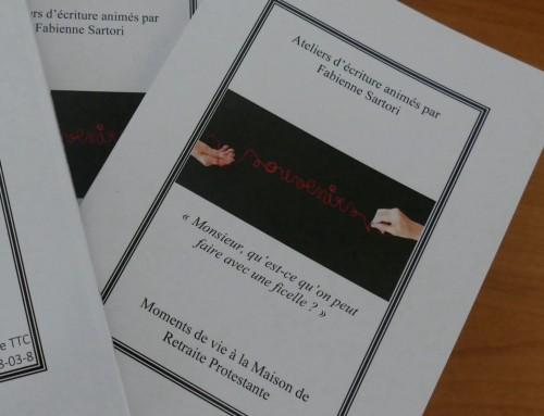 Moments de vie à la Maison de Retraite Protestante : Recueil des souvenirs des Résidents